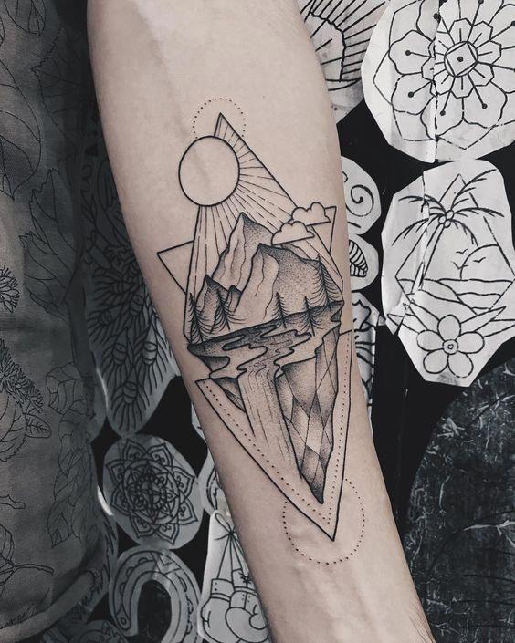 Geometric Forearm Tattoo Ideas Tattoosformen Geometric Tattoos Men Forearm Tattoo Women Forearm Tattoo Design