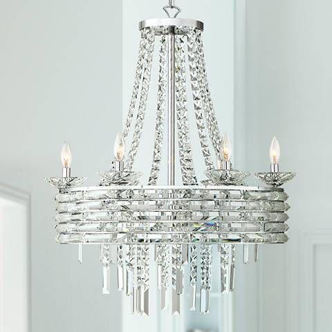 Utilize The Decorative Presence Of This Matsqui Eight Light