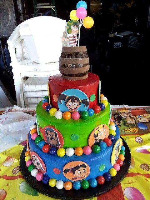 El Chavo Animado Cake. www.facebook.com/cakesbycynthiamartinez:
