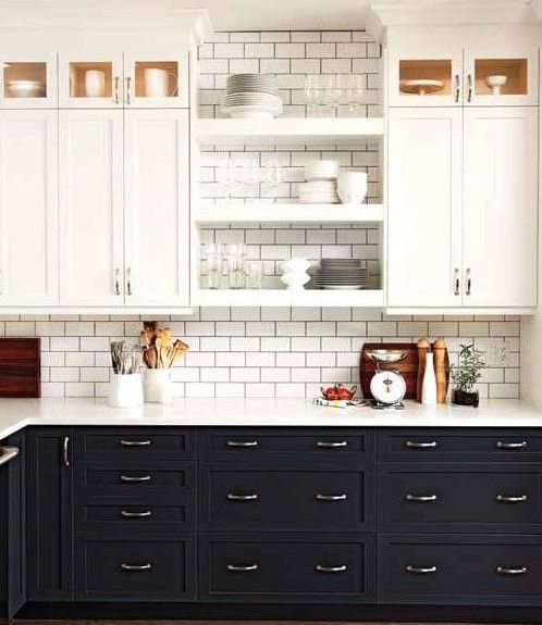 painted kitchen cabinets Archives - Interior Walls Designs | home ...
