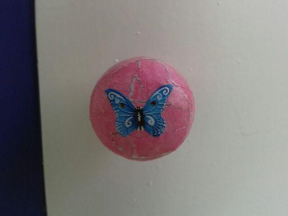 Butterfly doorknob