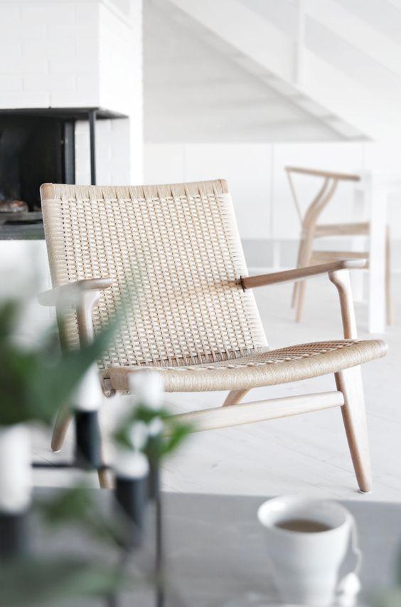 global homes ch25 hans wegner carl hansen s n. Black Bedroom Furniture Sets. Home Design Ideas