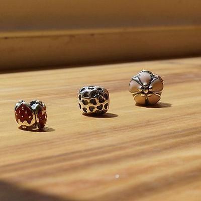 925 sterlilng silver auhentic pandora bead 3pc Charm Bead H21 H25 H88 https://t.co/hyHkCIxp0L https://t.co/KRr7DWmVWx