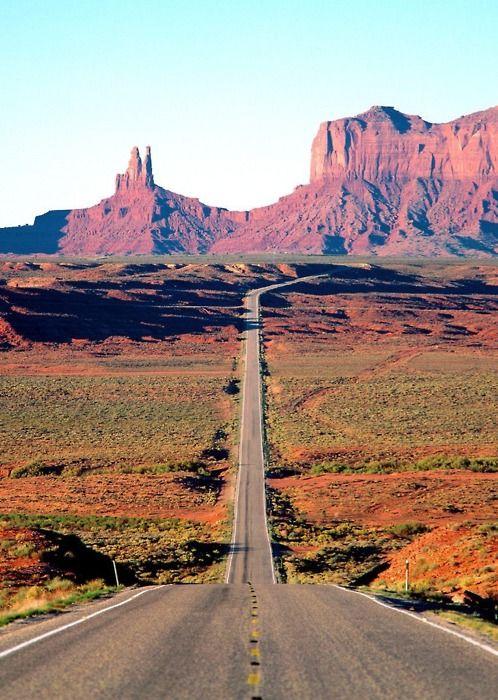 A #desert road. #nature #serene