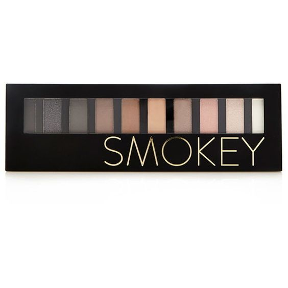 Forever 21 Smoky Eyeshadow Palette ($7.90) ❤ liked on Polyvore featuring beauty products, makeup, eye makeup, eyeshadow, forever 21 и palette eyeshadow