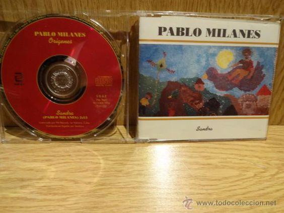 PABLO MILANÉS. ORÍGENES / SANDRA. CD SINGLE-PROMO / ZAFIRO - 1994 / CALIDAD LUJO.
