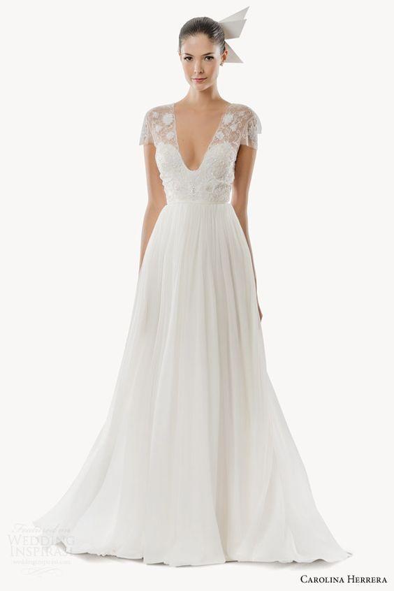 Carolina Herrera Fall 2015 And 2015 Wedding Dresses On