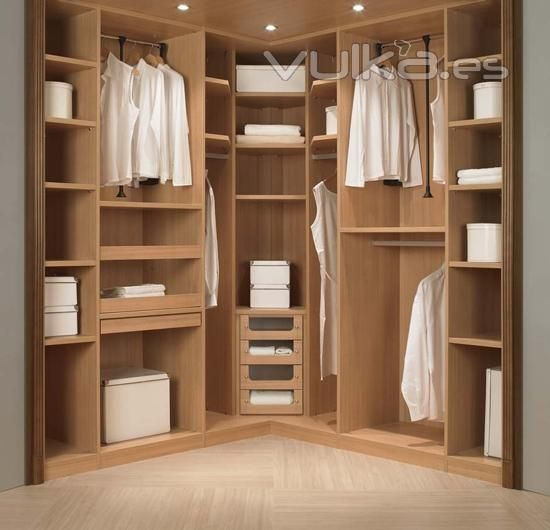 Closets en escuadra buscar con google decoracion de for Decoracion closet en madera