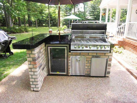 Gasgrill Outdoor Küche | Bildergebnis Fur Outdoor Kuche Edelstahl Outdoor Pinterest