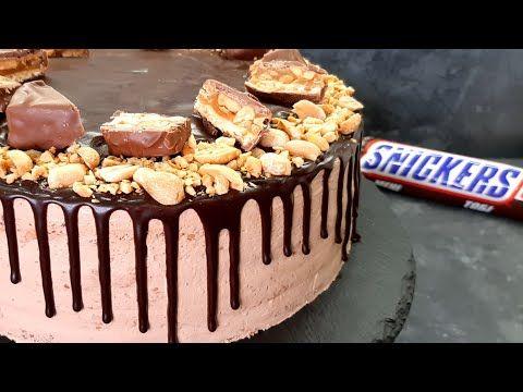 ən Dadlisindan Tort Snickers Və Sudlu Karamel Resepti Myfoodchannel Youtube In 2021 Desserts Snickers Cake