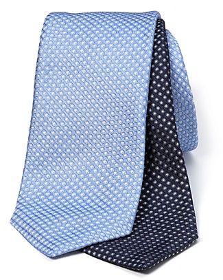 Armani Collezioni Silk Glossy Dot Tie | Bloomingdale's