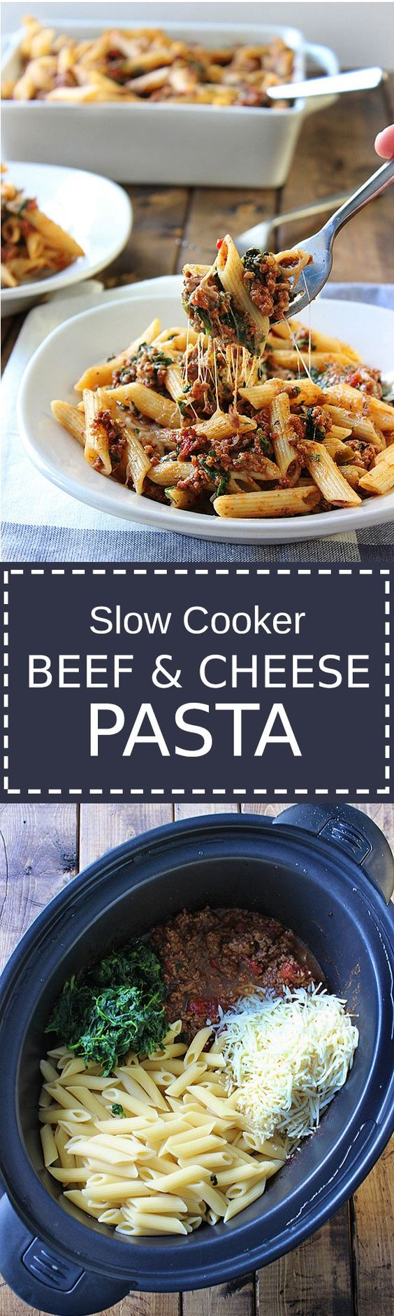 ... that is cooked long and slow to bring out the best cheesy meat sauce