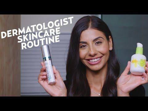 A Dermatologist S Nighttime Skincare Routine For Oily Skin Skincare Youtube Nighttime Skincare Skin Care Night Time Skin Care Routine