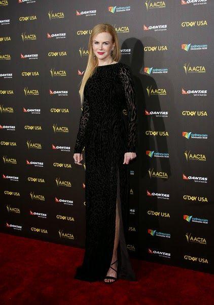 Nicole Kidman in Altuzarra - G'Day USA