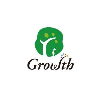 株式会社グロウスのロゴ:様々な成長を認め合う | ロゴストック
