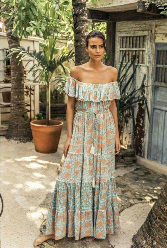 Casual Boho Beach Dress