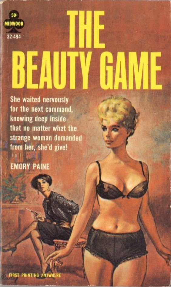 THE BEAUTY GAME  #pulp #fiction #cover #art #vintage