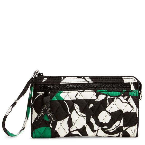 Perfect for a girls' night out or shopping with friends, the Front Zip Wristlet has just enough room for all the essentials.