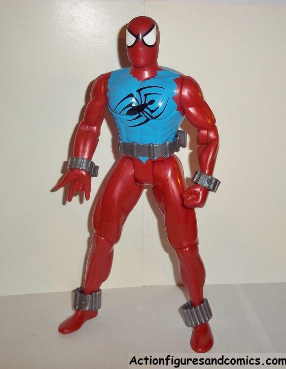 Spider-man the Animated series SCARLET SPIDER ben reilly ...