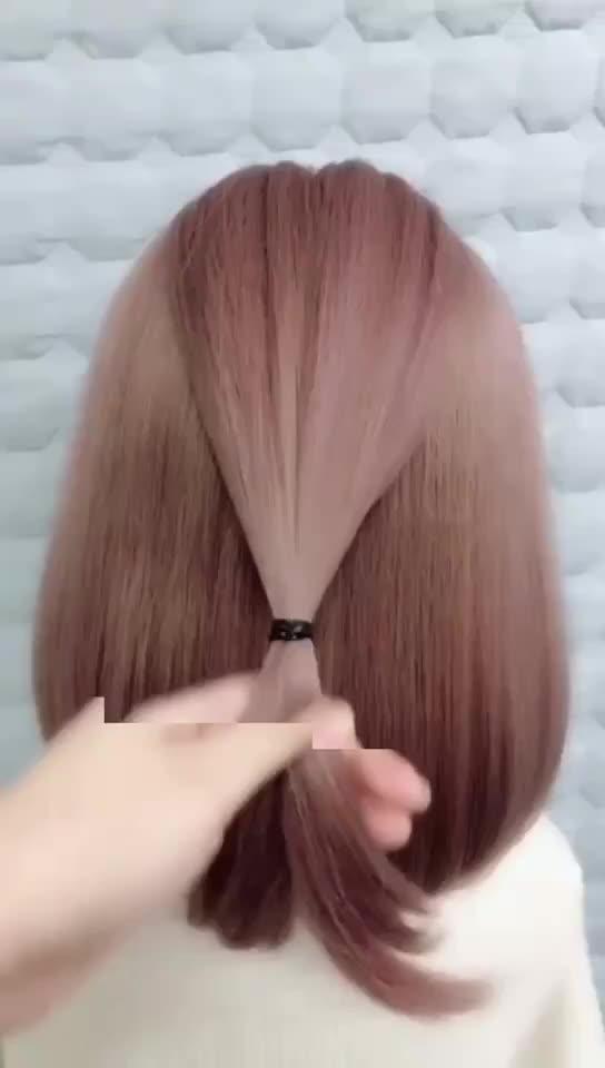 Hairstyle Tutorial Hair Girls Be Pretty Hair Style Tiktok Global Video Community Hair Styles Pretty Hairstyles Short Hair Styles