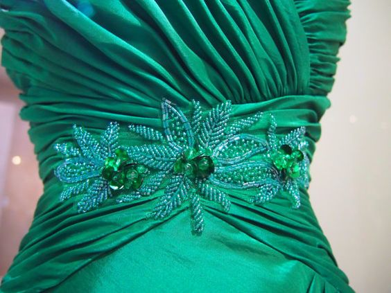Perfect for this Holiday Party!! Mistletoe Green Ballroom Dress by Liansi on Etsy, $80.00