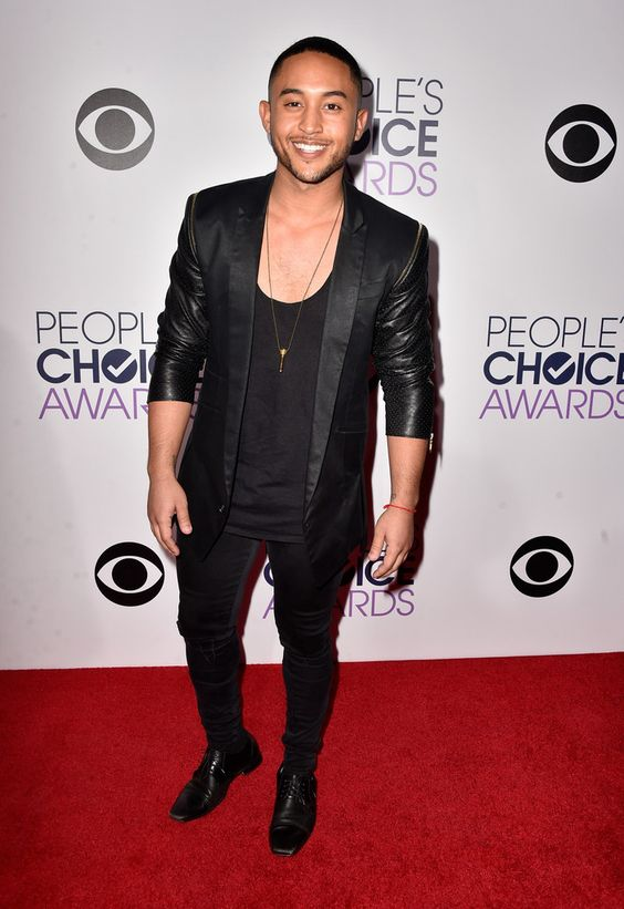 Tahj Mowry at the Peopl'es Choice Awards