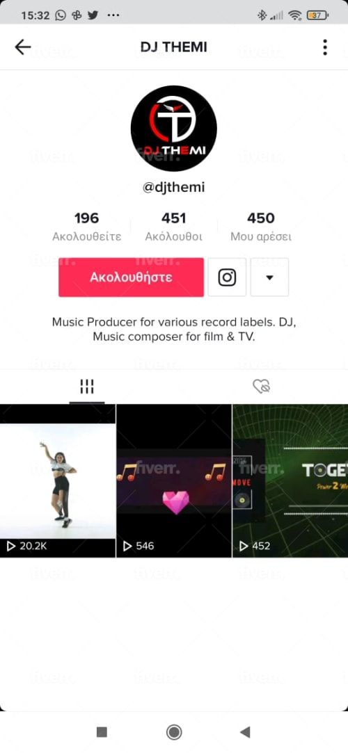 Tomexpertppc I Will Grow Your Tik Tok Account Organically And Manually For 15 On Fiverr Com Social Media Marketing Services How To Get Followers Instagram Marketing