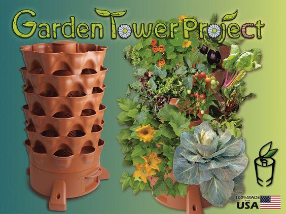 Self-Fertilizing Vertical Garden Tower Reaches Kickstarter Goal in Just 33 Minutes