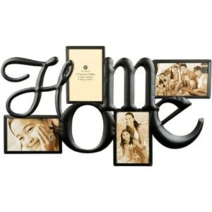 """Burnes """"Family"""" 4-Opening Collage Frame"""