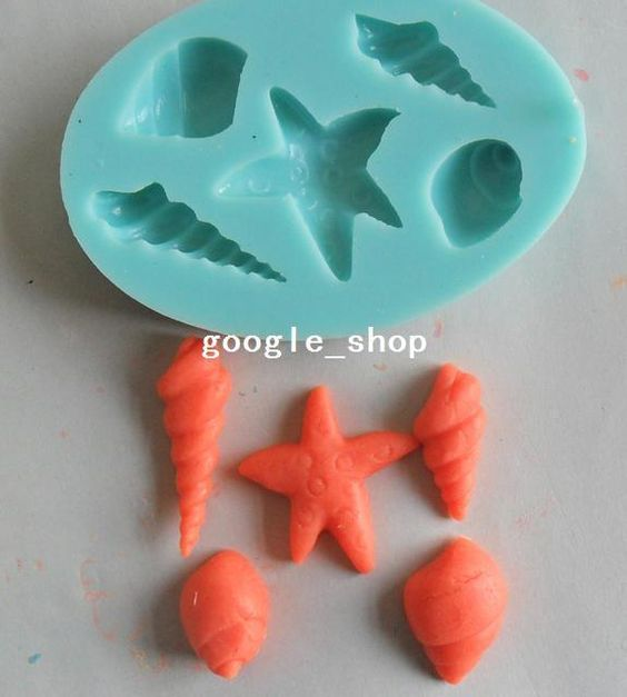 Starfish Chocolate Candy Jello Mold Mould Cake Tools Bakeware Sugarcraft Soap Mold Sugarcraft Cake Decoration