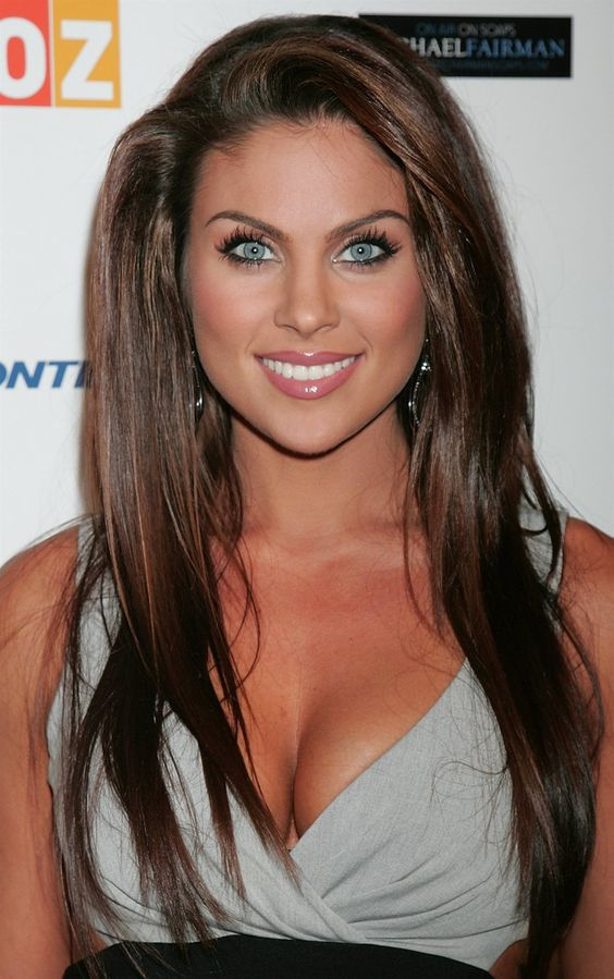 Nadia,I love her she is probably the prettiest women alive and she used to star on Days Of Our Lives as Chloe Lane....