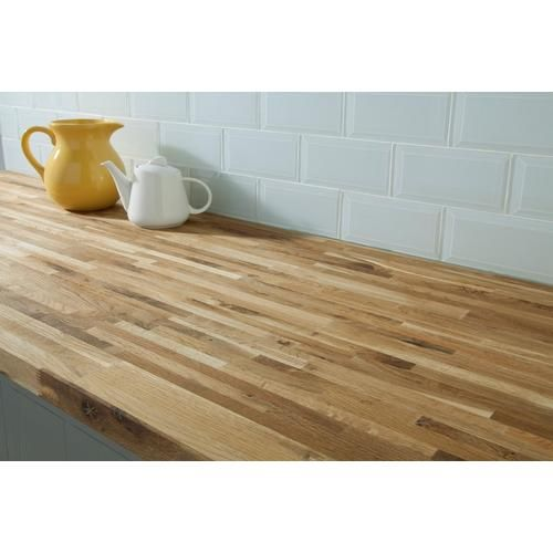Fumed Oak Butcher Block Countertop 12ft Floor Decor In 2020 Butcher Block Countertops Countertops Butcher Block Island