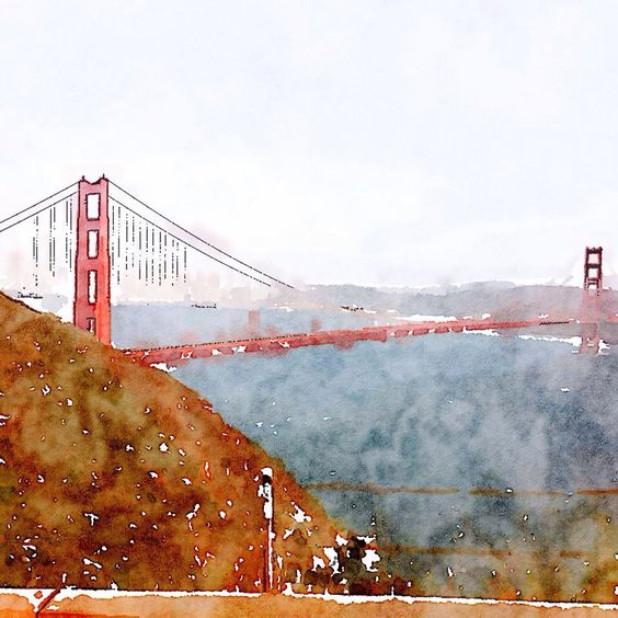 I used Water Logue app to make my photo into a painting. I love it!!