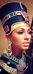 Keri Hilson en Nefertiti lors du dernier Halloween:
