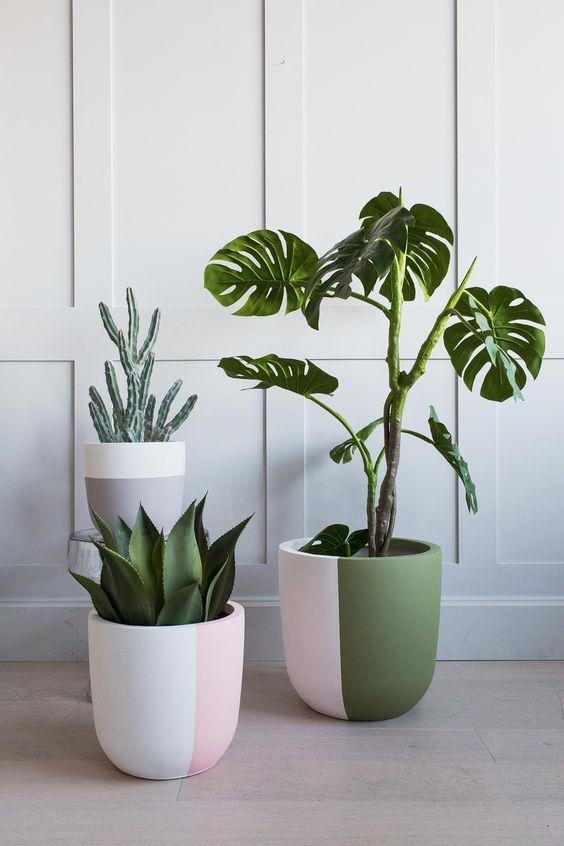 3 Best Inspiring Low Budget Decoration Ideas Plant Pot Design Plant Pot Diy House Plants Decor Decorative pots for living room