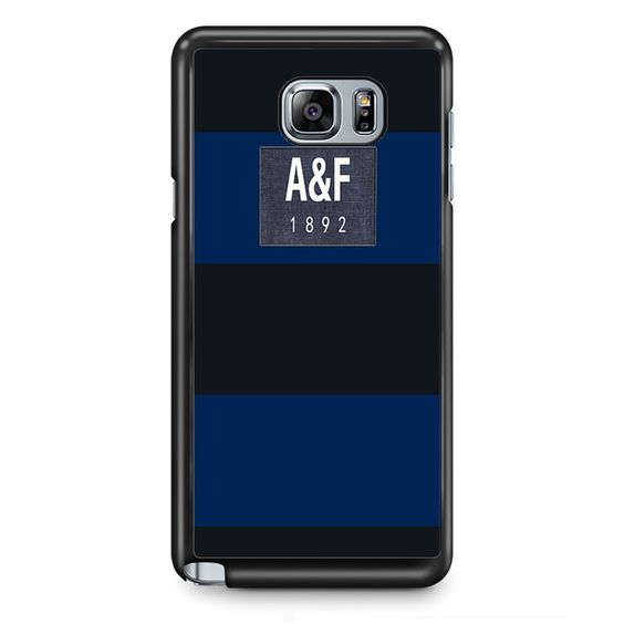 Dark Blue Abercrombie And Fitch TATUM-3001 Samsung Phonecase Cover Samsung Galaxy Note 2 Note 3 Note 4 Note 5 Note Edge