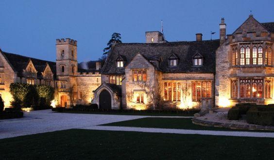 Luxury Hotel Cheltenham, England. The Ellenborough Park
