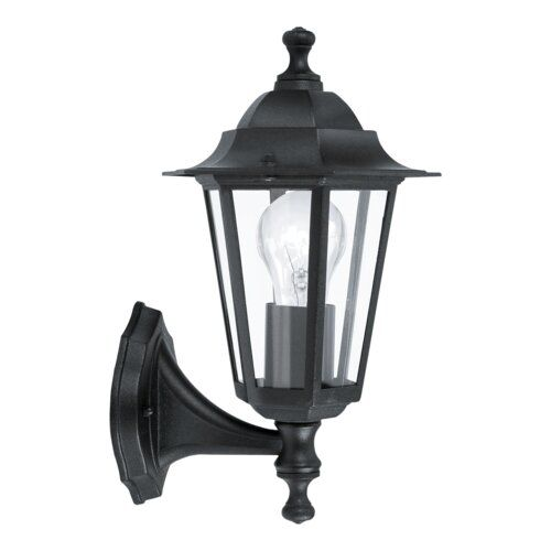 E27 noir aluminium Eglo 93098/Lanterne