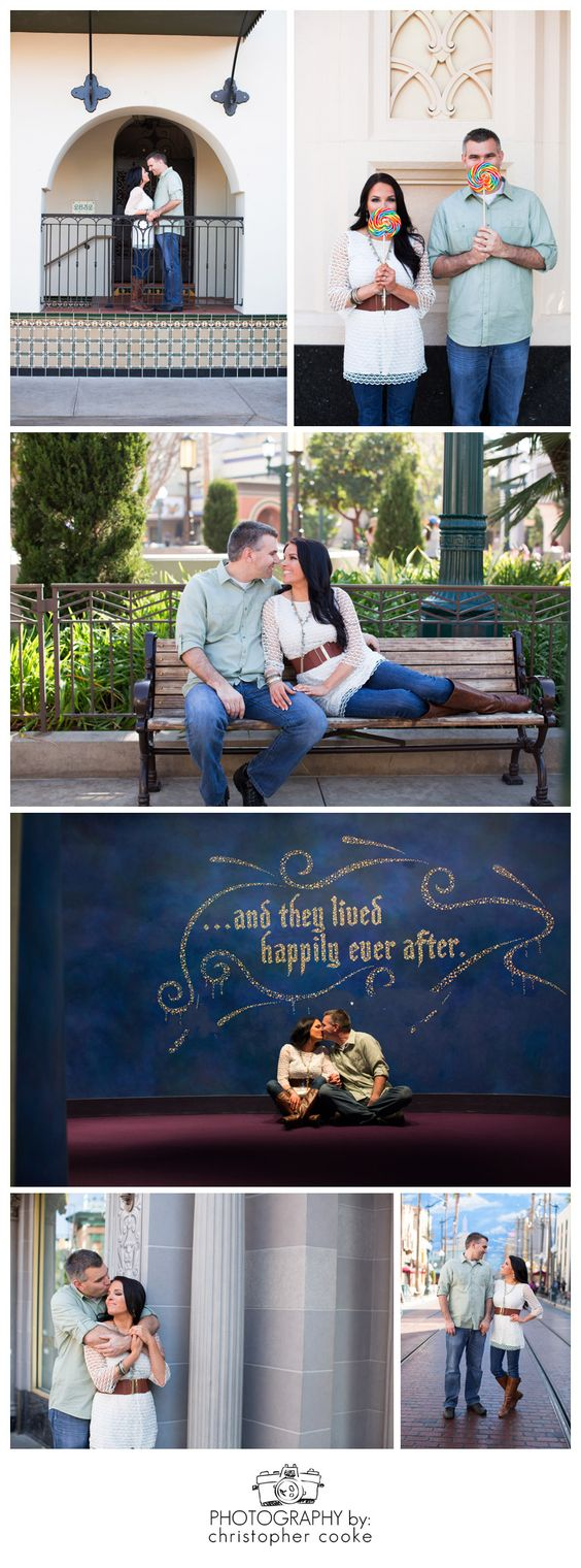 Now THIS is how you do Disney engagement pics. GORGEOUS! <3 Shalyn & Stephen :: Engaged :: Disneyland Resort Engagement Photography :: Anaheim Engagement Photography