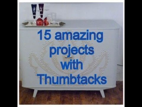15 Amazing Diy Projects with Thumbtacks
