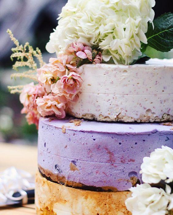 Cheesecake cake and Wedding cake