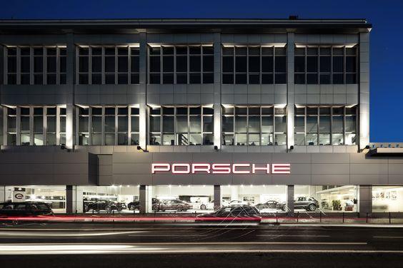 Centro Porsche Lisboa,© Fernando Guerra | FG + SG