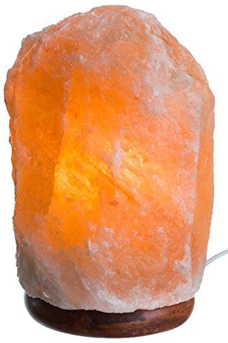 Natural Himalayan Rock Salt Lamp 713 lbs with Wood Base Electric Wire  Bulb ** Check out the image by visiting the link.