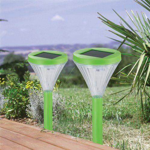 Stellar 1068 Funlight 2er Set Grun Amazon De Beleuchtung Solarleuchten Garten Solarleuchten Beleuchtung