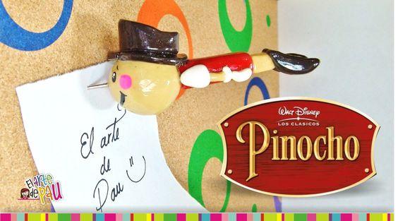 Pinocchio polymer clay tutorial / Pinocho de arcilla polimérica