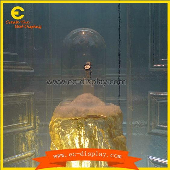 Fiberglass fake large artificial perfume bottle manufacturers for show case