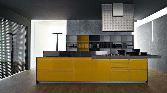 Fitted kitchens | Kitchen systems | Artematica Multiline I Giallo ... Check it out on Architonic