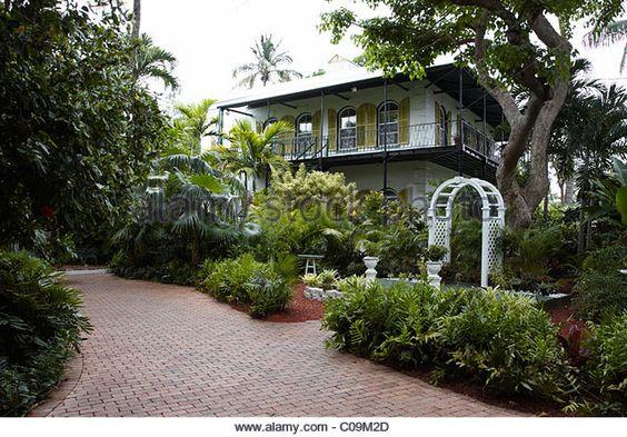 Ernest Hemingway Home and Museum - Key West, florida, USA