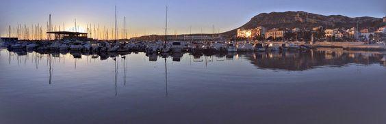 El puerto de Denia