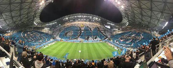 Le plus beau stade. Le vélodrome à Marseille - ALLER L'OM !!!!